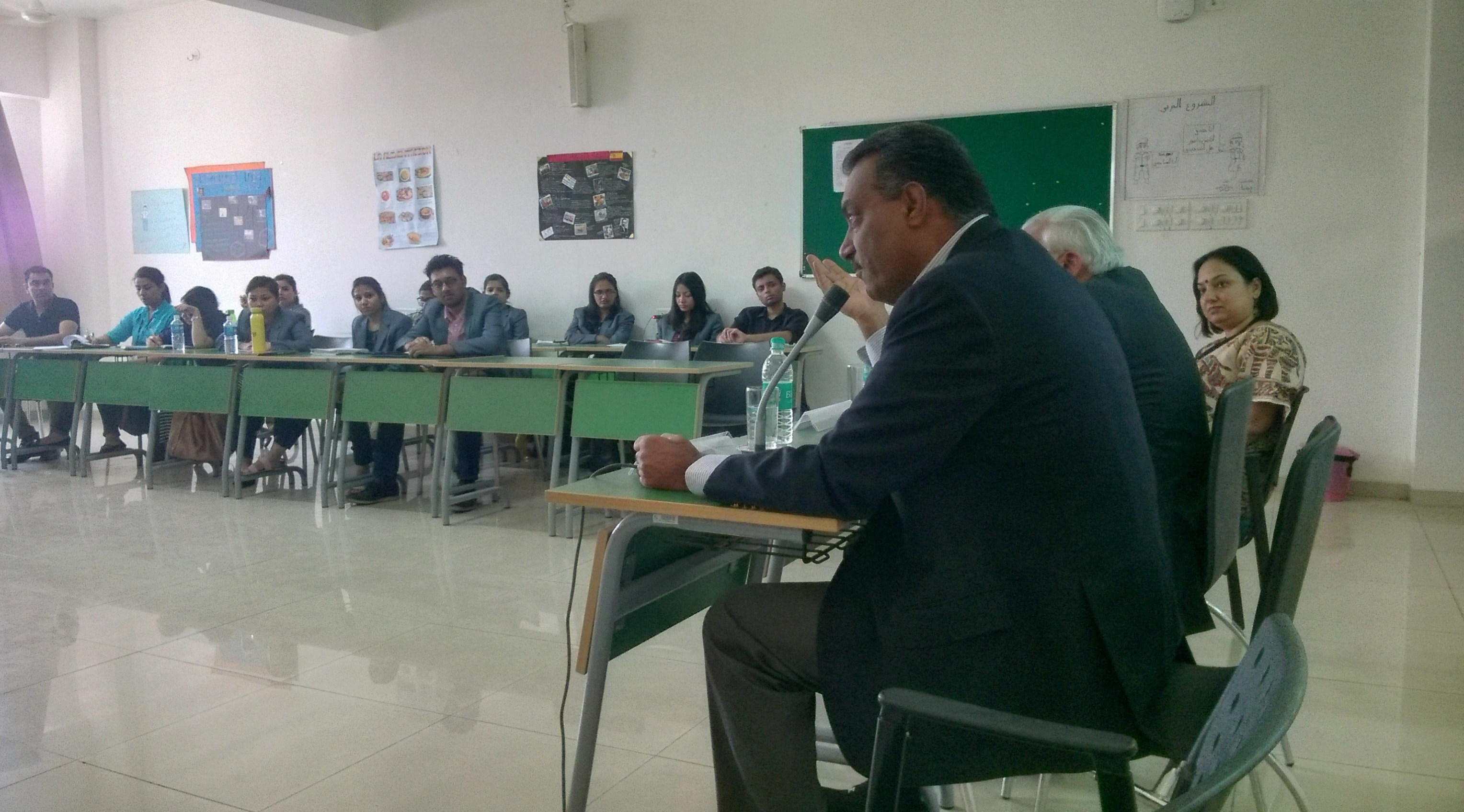 Guest Lecture by His Excellency Mr. Maroof Raza