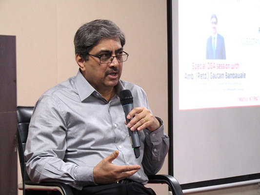 THE ABROGATION OF ARTICLE 370 DISCUSSION WITH AMB. (RETD.) GAUTAM BAMBAWALE